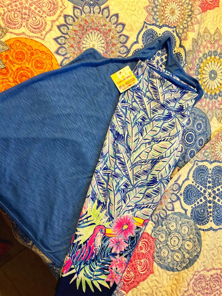 कब my Lilly Pulitzer Luxletic Activewear leggings came in the mail, I could hardly wait to try them on.