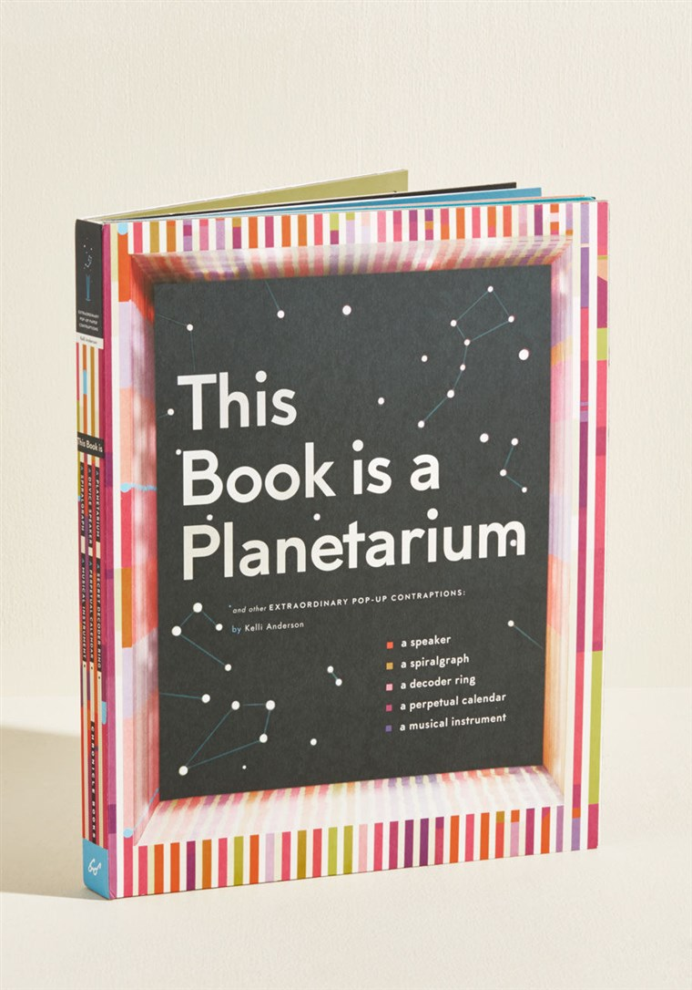 Ovaj Book Is A Planetarium Pop Up Book