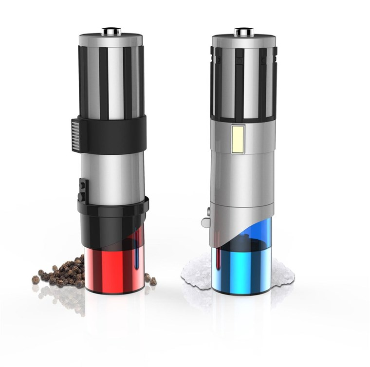Zvijezda Wars Lightsaber Salt and Pepper Shakers