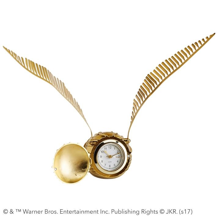harati Potter Golden Snitch Clock