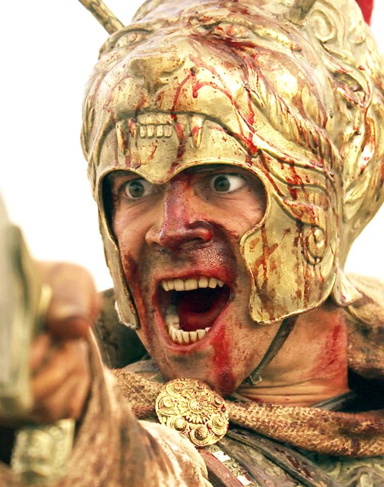 अभिनेता Colin Farrell in scene from new film Alexander