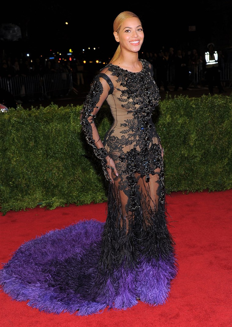 NOVI YORK, NY - MAY 07: Beyonce Knowles attends the