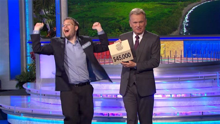 רוברט Santoli couldn't help himself from winning big, even if Pat Sajak hoped he would tone it down.