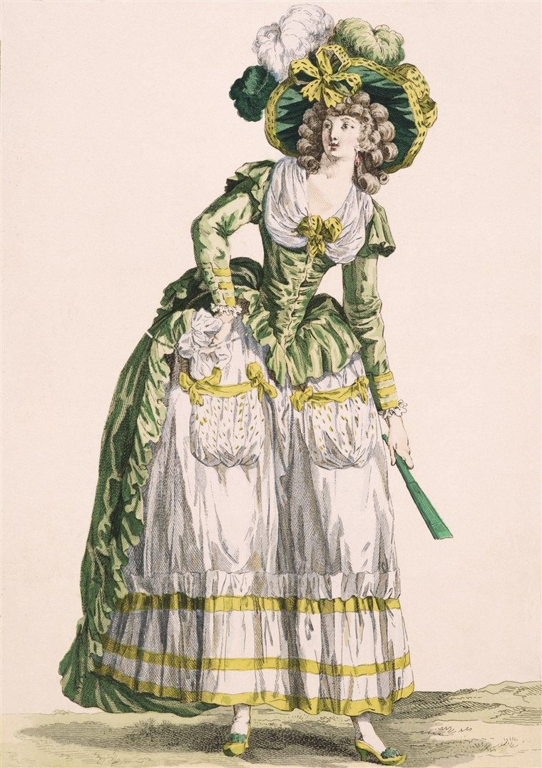 Dama's Country-Style Gown, 1780