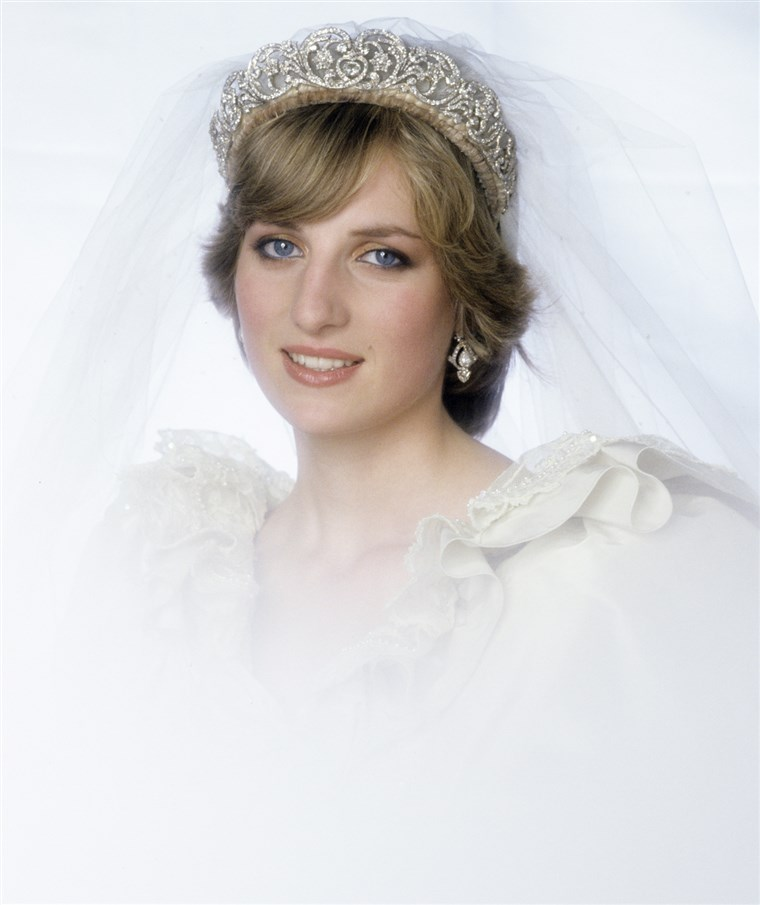 Hercegnő of Wales Wedding Portrait