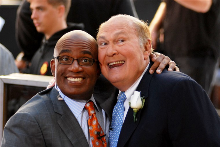 אל Roker and Willard Scott in 2009 in New York City