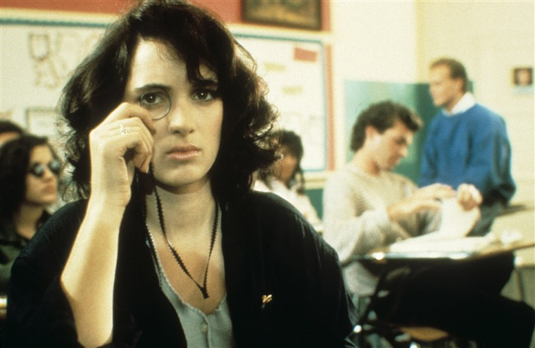 Winona Ryder in Heathers movie photo
