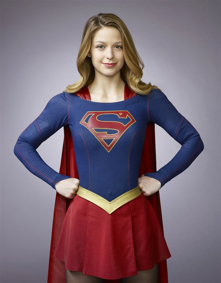 मेलिसा Benoist as Kara/Supergirl